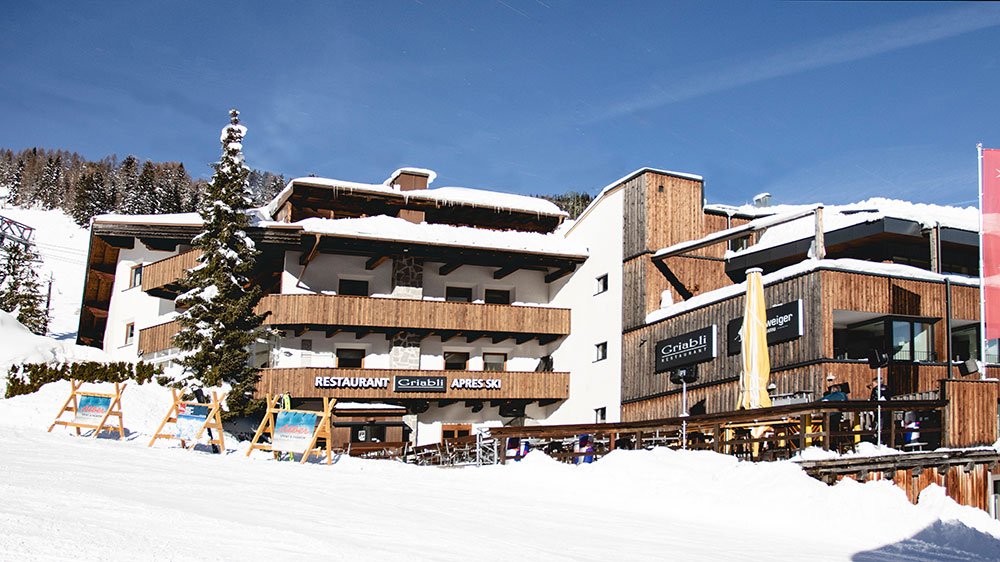 Griabli Restaurant Après Ski Appartement St Anton Am Arlberg